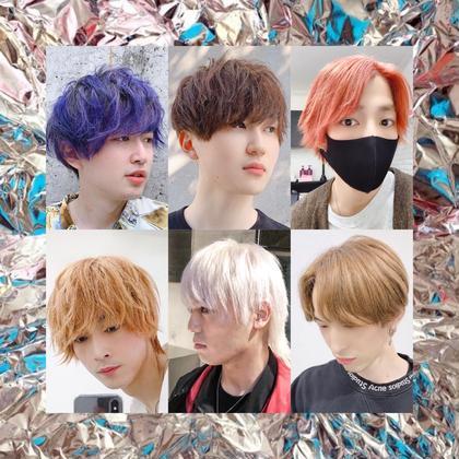 【メンズ】ブリーチ2回+カラー+カット+トリートメント(通常価格の50%OFFメニュー)