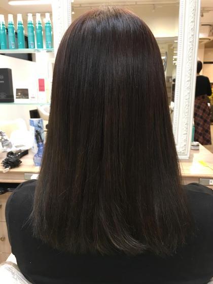 毛先のブリーチ毛を綺麗に染めました✌️ Ash大倉山店所属・鈴木和誉のスタイル