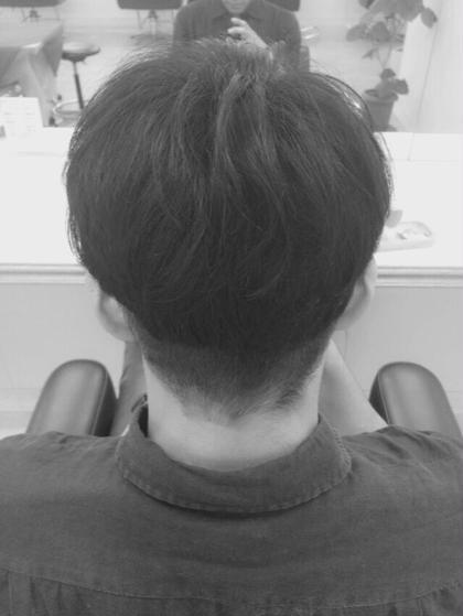 M'sカット(バック) ショートヘア☆ 松本平太郎美容室吉祥寺本店所属・千葉史保子のスタイル