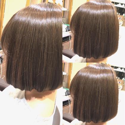 ❤️✨【大好評】ニュアンスうる艶カラー➕毛髪補修うる艶トリートメント✨❤️