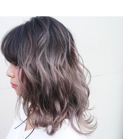 グラデーションカラー Hair garden Rold所属・吉田朋央のスタイル