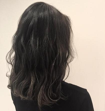 【次明るく出来る】暗染め限定カラー+シルクトリートメント