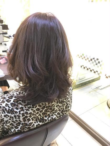 かなり明るくて黄色味があった髪をラベンダーアッシュに!✨ FACE。磯子所属・田爪俊也のスタイル