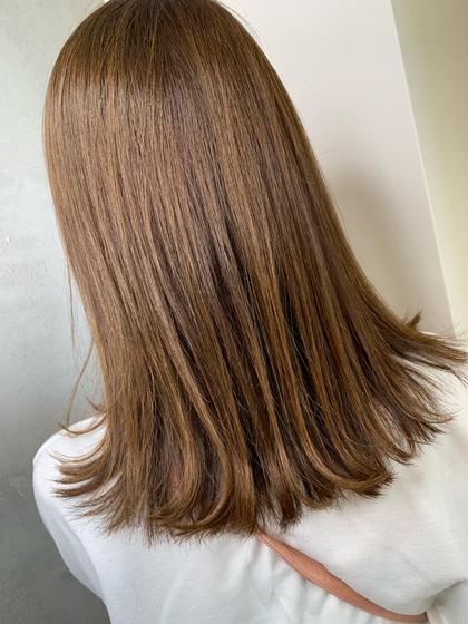 ✨ダメージレスでツヤ髪に✨イルミナカラー➕カット
