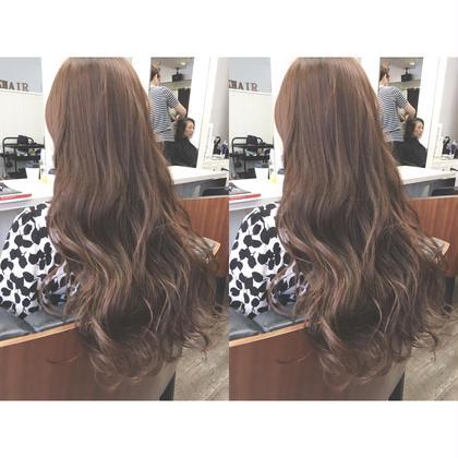 お客様スナップ✂︎ * オーガニックで艶髪カラーです☺︎ KHAIR所属・喜村和明のスタイル