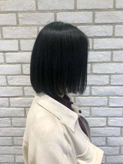 🌿 縮毛矯正🌿+ケラスターゼトリートメント【くせ毛でお悩みの方オススメ!】