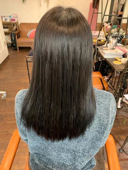 🍊【髪質改善】🍊♡ツヤツヤストレートパーマ♡超音波トリートメント&炭酸スパ付き♡フルコース♡