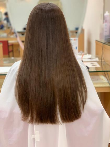 【初回限定】髪質改善ストレートパーマ