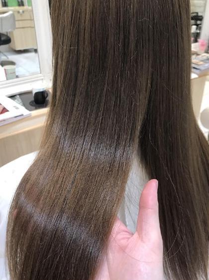 ダメージレス 艶 縮毛矯正 髪質改善