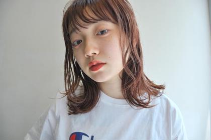 【スタイル全てお任せ】カット+カラー モデル料金 8980円