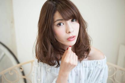 ふんわり可愛い雰囲気に hair care salon Schon所属・山本 智美のスタイル