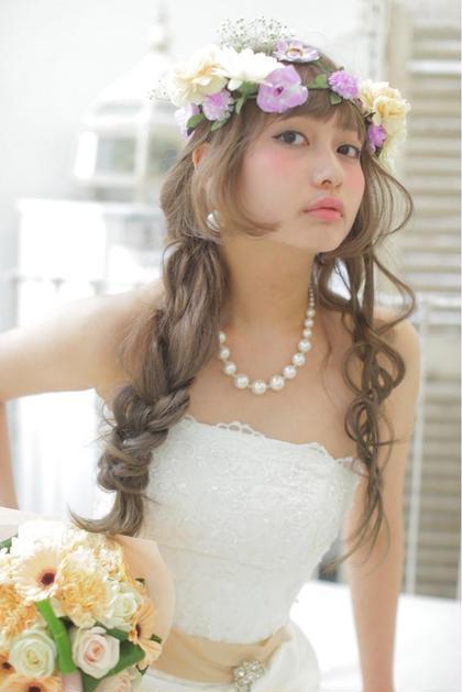 フラワーwedding◎ SHION crea原宿所属・YamashitaSatoshiのスタイル