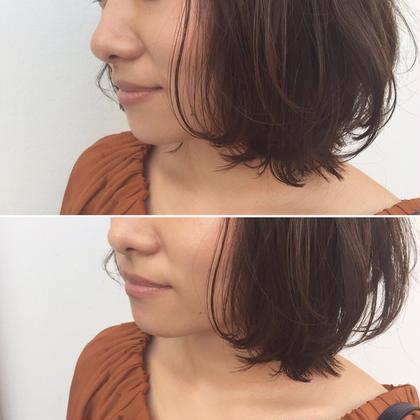 ナチュラルなボブスタイルも、コテでニュアンスを変える事で新鮮にスタイルに★ Halo hair design所属・小川淳之のスタイル
