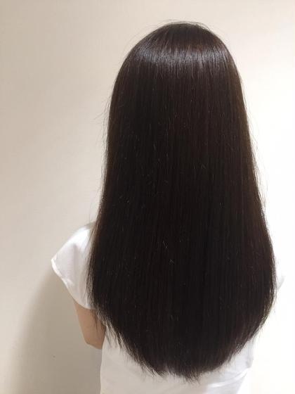 【最高の美髪へ】フルボ酸ストレートパーマ+カット