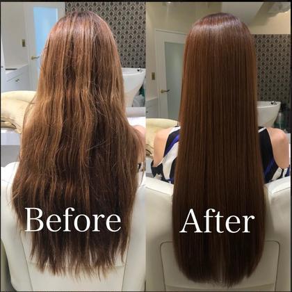 【👻ハロウィン限定クーポン👻】うるつやhairに🍁フルカラー+髪質改善トリートメント+免疫向上ヘッドスパ¥9900