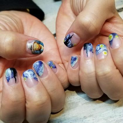 ネイルアートし放題⭐【ご新規様HAND】手書き,パーツなんでもOK!!