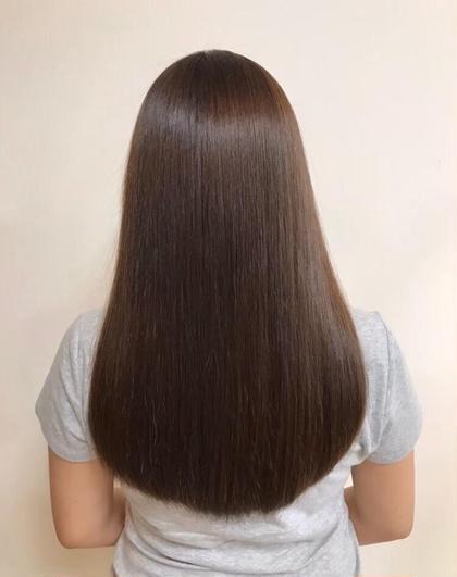 《朝の時短メニュー》骨格診断カット+前髪ストレート《ポイント》