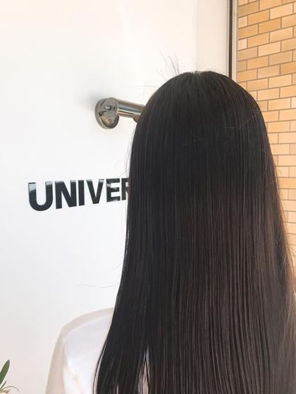 ロング ⭐️⭐️⭐️超音波トリートメントでサラ艶ヘアに⭐️⭐️⭐️  毛先のまとまりも良くなり、手触りがアップします❤️   朝起きた時の毛先のまとまり変わります☺️