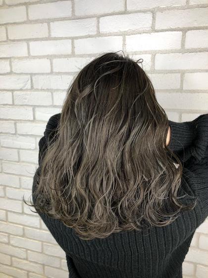 ✨贅沢フルコース✨カット+イルミナ・アディクシーカラー & ナノスチーム付TOKIOトリートメント「フルカラー+500」