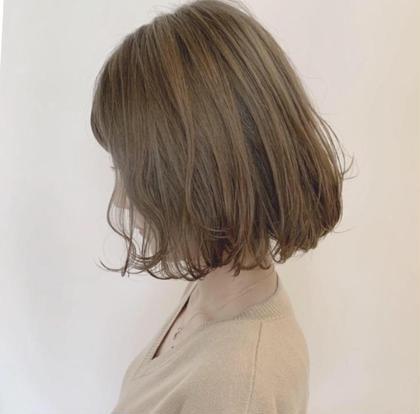横顔美人✨✨お顔まわりこだわりの似合わせカット 癖を活かしてまとまる髪に♡