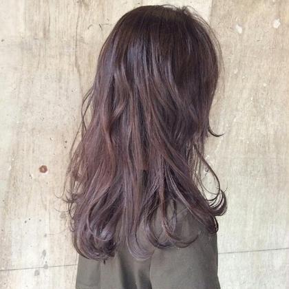 グレーパープル* hair salon SiSTA所属・大杉真子のスタイル