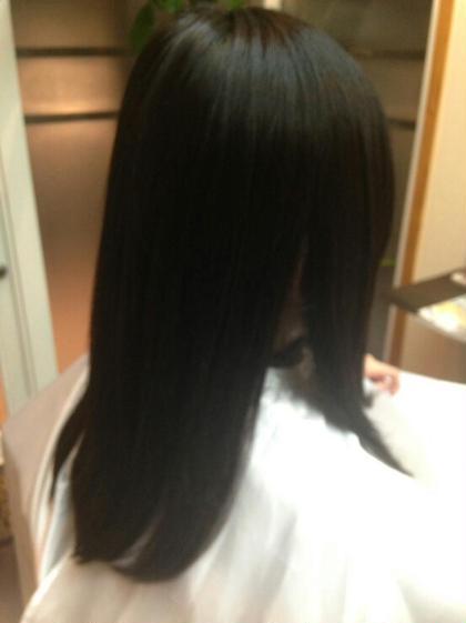 さらさらストレート hair de parusa 所属・小澤直幸のスタイル