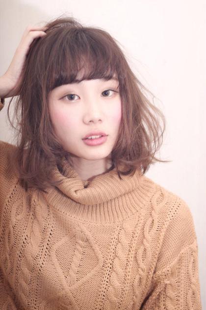 ゆるふわカールミディ euphoria渋谷グランデ店所属・佐藤ケントのスタイル