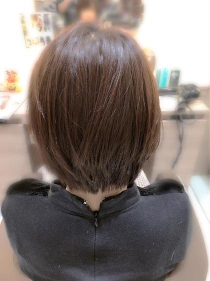 えりあしスッキリボブSTYLE♥️ Ash中山店所属・友常拓道のスタイル