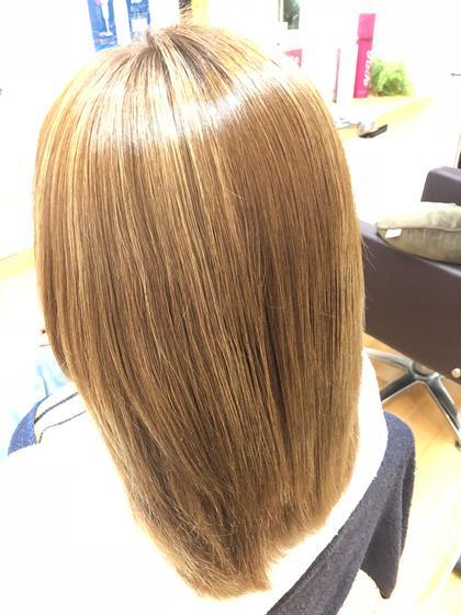 ○ブリーチ毛 ○Aujuaトリートメント Hair&MakePOSH所属・杉本はるかのスタイル