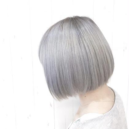 💘透明感出すならこれ💘オリジナルイルミナカラーでツヤツヤに💘10ステップ髪質改善トリートメント付き✨🌈