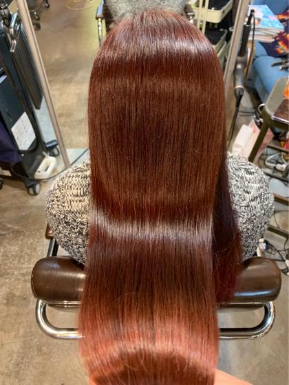 髪質改善トリートメント+カット