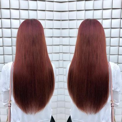 🔥髪質改善フルコース🔥⭐️カット&イルミナカラー&ストレートパーマ&oggi otto8stpトリートメント⭐️