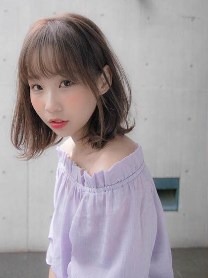 【艶】カラー&アミノ酸トリートメント