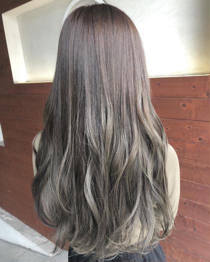 ✨ミニモ限定✨透明感抜群スロウカラー+髪質改善トリートメント+リラクゼーションスパ
