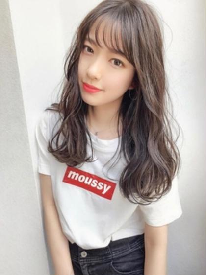 カット+ケアカラー+毛髪改善集中トリートメント