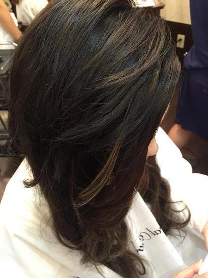 エクステ80本! 実はこの方、髪が肩にかからないほどの ショートでしたっ!! natural control所属・香川奈月子のスタイル