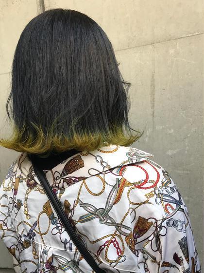 🌿裾 color🌿 お洒落さんの中で人気の裾カラー❤︎