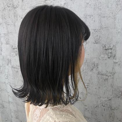 【髪質改善💫ミディアム】カラー&oggi ottoトリートメント