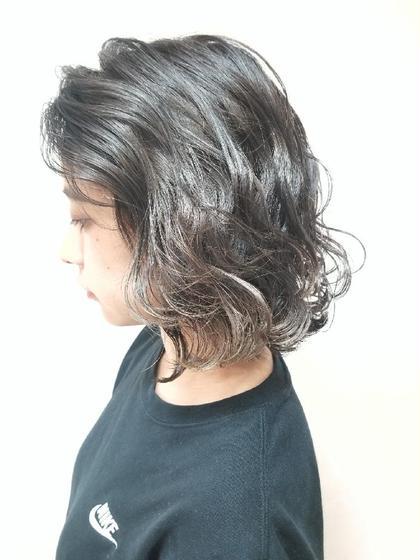 #アオハル【カズヤ一推し💕】カット&外国人風イルミナカラー&3D&艶髪トリートメント
