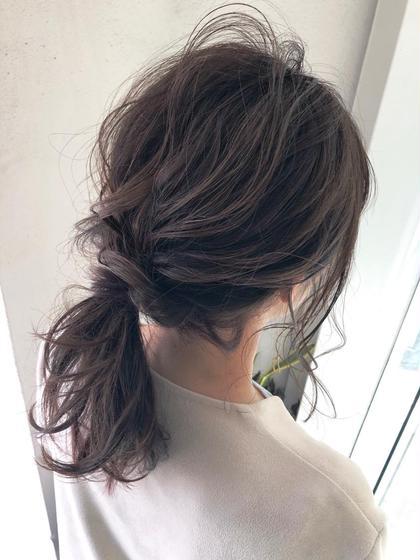 お出かけの前に⭐️前髪カット+簡単アレンジ