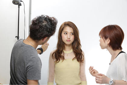 hair make MUSE 二条店所属・長田元のスタイル
