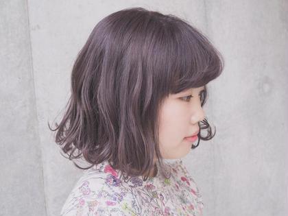 日頃 アイロン で 巻く方 には 巻き髪 が 映える カット を ♡ JEANA  HARBOR所属・森彩音のスタイル