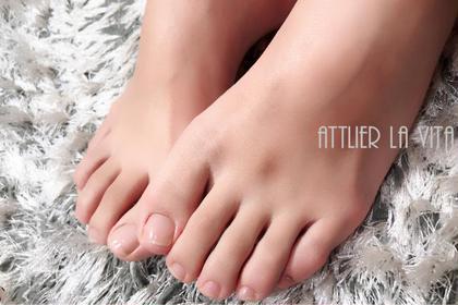 【FOOT】ネイルケア♪甘皮処理、表面磨き♪
