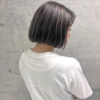 open記念!ハイライト1回無料✨当日予約大歓迎🌻1日2枠🍇前髪カット+ハイライト+透明感カラー+トリートメント🌈