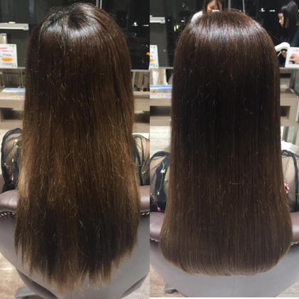 before>>>>>>>after ヘアーメイクウィルJR茨木店所属・藤本華奈のスタイル