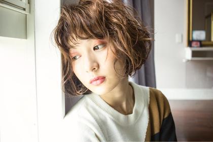 【〜5月31日迄!ご新規様限定】艶髪カラー+似合せカット+キューティクルトリートメント
