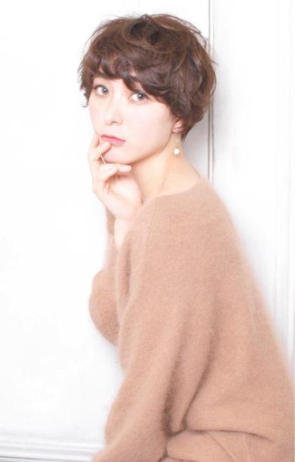 全体にゆるくパーマをあててますー(*^^*) breath beauu所属・yuukiユウキのスタイル