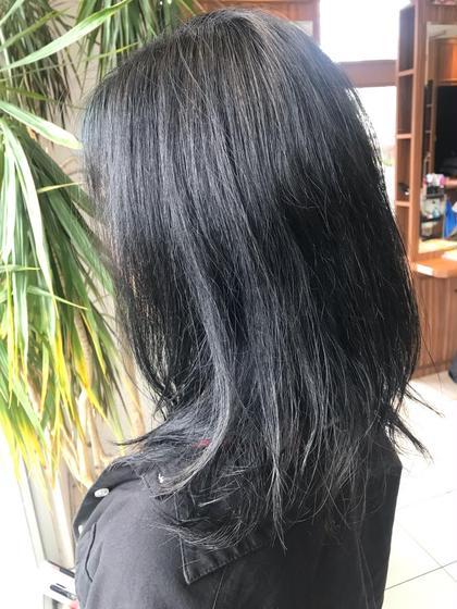 🔥1番人気🔥似合わせカット&モテカラー😍&髪質改善トリートメント&極上ヘッドスパ🔥