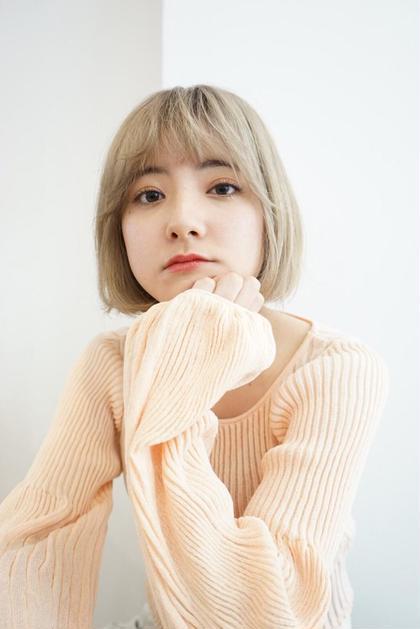 ❤️ミニモ初回限定クーポン❤️韓国風🇰🇷カラー+前髪カット+3ステップトリートメント✨