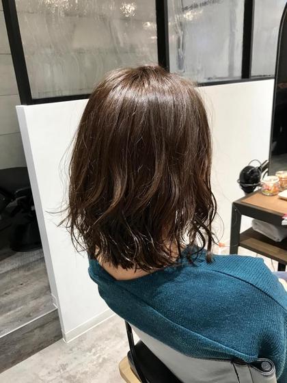 《髪を伸ばしたい方へ》前髪カット&イルミナカラー&トリートメント